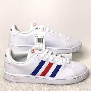 NWT-Adidas Men's Grand Court Base Shoes -Size: 8.5